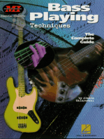 Bass Playing Techniques: Essential Concepts Series