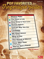 Pop Favorites for Fingerstyle Guitar
