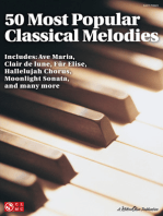 50 Most Popular Classical Melodies