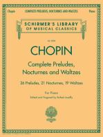 Complete Preludes, Nocturnes & Waltzes