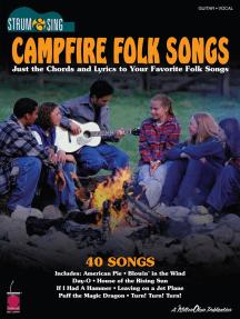 Campfire Folk Songs - Strum & Sing Guitar