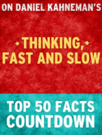 Thinking, Fast and Slow - Top 50 Facts Countdown