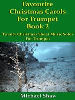 Favourite Christmas Carols For Trumpet Book 2