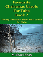 Favourite Christmas Carols For Tuba Book 2