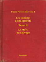 Les Exploits de Rocambole - Tome II - La Mort du sauvage