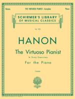 Hanon - Virtuoso Pianist in 60 Exercises - Complete
