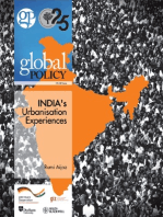 India's Urbanisation Experiences