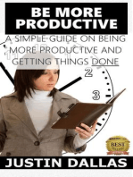 Be More Productive