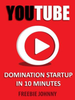 YouTube Domination Startup in 10 minutes