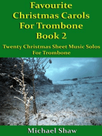 Favourite Christmas Carols For Trombone Book 2