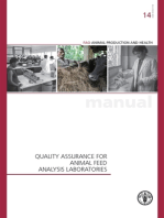 Quality Assurance for Animal Feed Analysis Laboratories