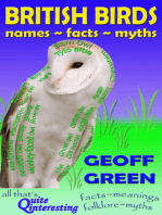 British Birds -Names~Facts~Myths