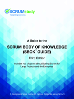 A Guide to the Scrum Body of Knowledge