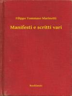 Manifesti e scritti vari