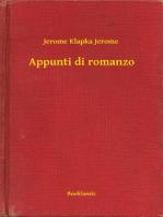Appunti di romanzo