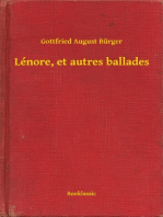 Lénore, et autres ballades
