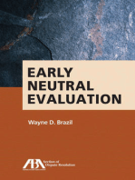 Early Neutral Evaluation