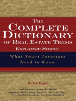 The Complete Dictionary of Real Estate Terms Explained Simply