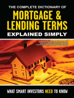 The Complete Dictionary of Mortgage & Lending Terms Explained Simply