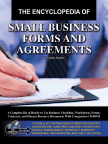 The Encyclopedia of Small Business Forms and Agreements: A Complete Kit of Ready-to-Use Business Checklists, Worksheets, Forms, Contracts, and Human Resource Documents