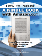 How to Publish a Kindle Book with Amazon.com