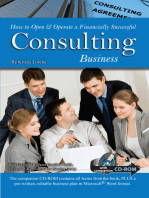 How to Open & Operate a Financially Successful Consulting Business
