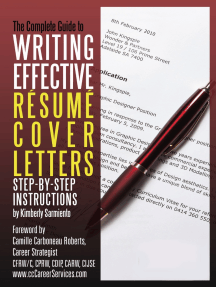 Complete Guide to Writing Effective Resume Cover Letters: Step-by-Step Instructions