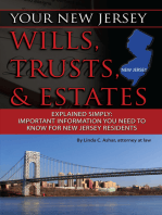 Your New Jersey Will, Trusts & Estates Explained Simply
