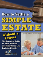How to Settle a Simple Estate Without a Lawyer