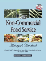 The Non-Commercial Food Service Manager's Handbook
