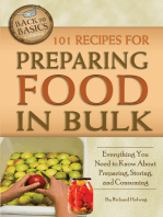 101 Recipes for Preparing Food In Bulk