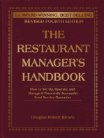 The Restaurant Manager's Handbook