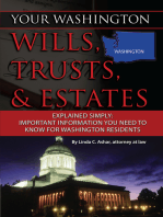 Your Washington Wills, Trusts, & Estates Explained Simply