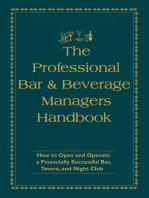 The Professional Bar & Beverage Manager's Handbook: How to Open and Operate a Financially Successful Bar, Tavern, and Nightclub