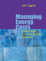 Managing Energy Costs