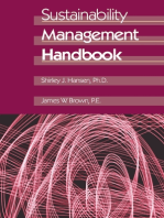 Sustainability Management Handbook