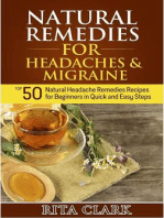 Natural Remedies for Headaches and Migraine
