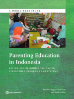 Parenting Education in Indonesia: Review and Recommendations to Strengthen Programs and Systems