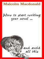 How to Start Writing Your Novel