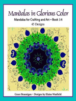 Mandalas in Glorious Color Book 14