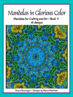 Mandalas in Glorious Color Book 4