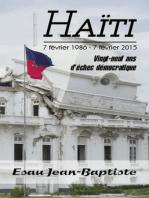 Haïti 7 février 1986 - 7 février 2015