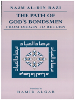 The Path of God's Bondsmen from Origin to Return [translated]