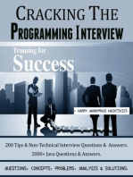 Cracking The Programming Interview.