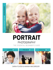 Foundation Course: Portrait Photography: The Essential Beginner's Guide