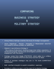 Business vs Military Strategy Free download PDF and Read online