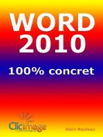 Word 2010 100% concret