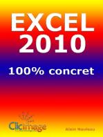 Excel 2010 100% concret