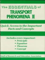 Transport Phenomena II Essentials