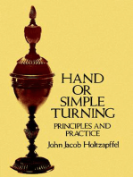 Hand or Simple Turning